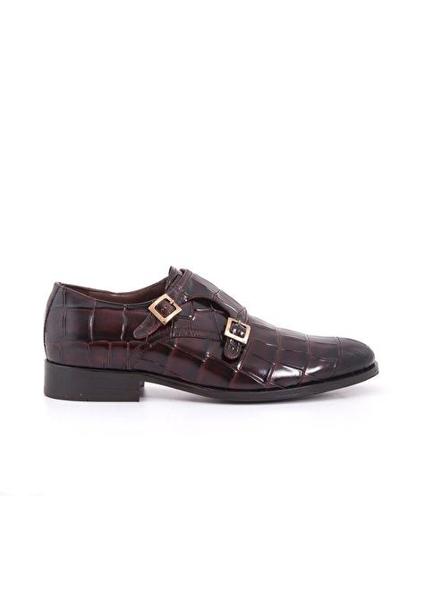 Mocassini Ayakkabı Bordo